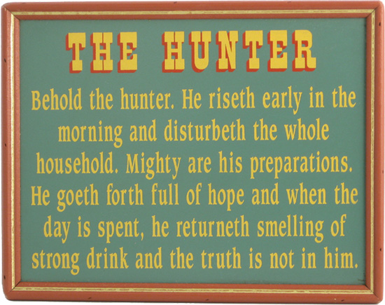 Hunting Humor